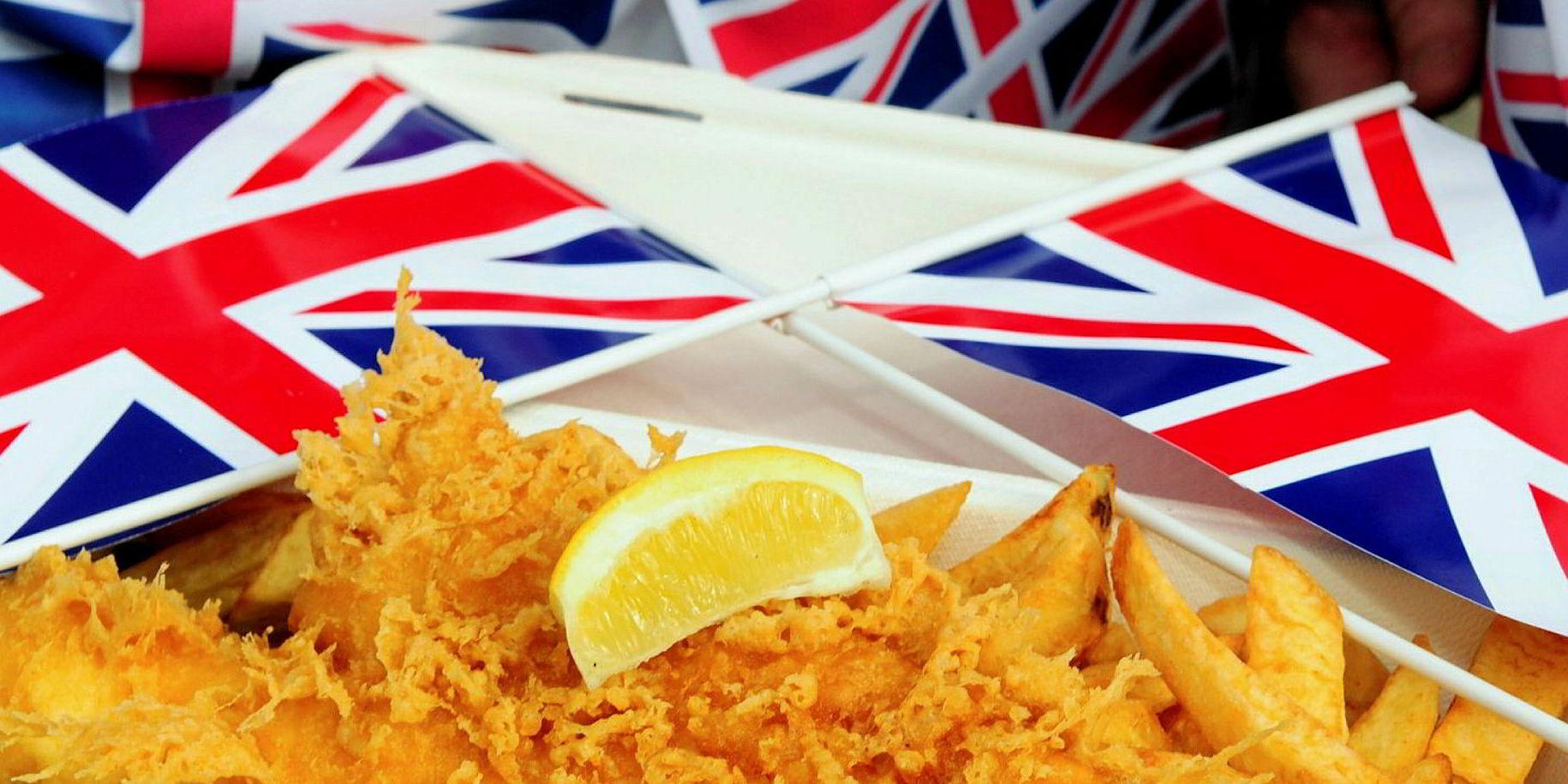 Stenger Fish Chips Marked I Storbritannia Fiskeribladet
