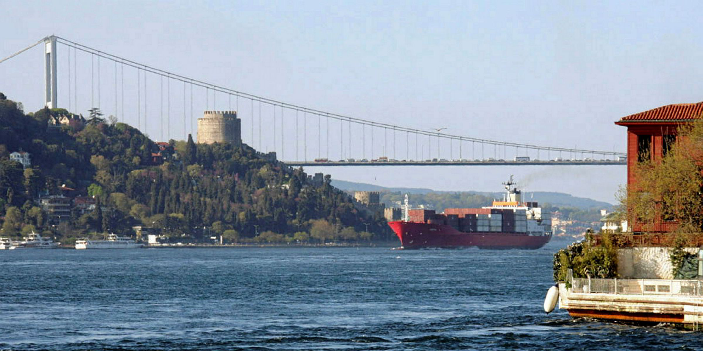 Turkey reveals route for Istanbul Canal | TradeWinds