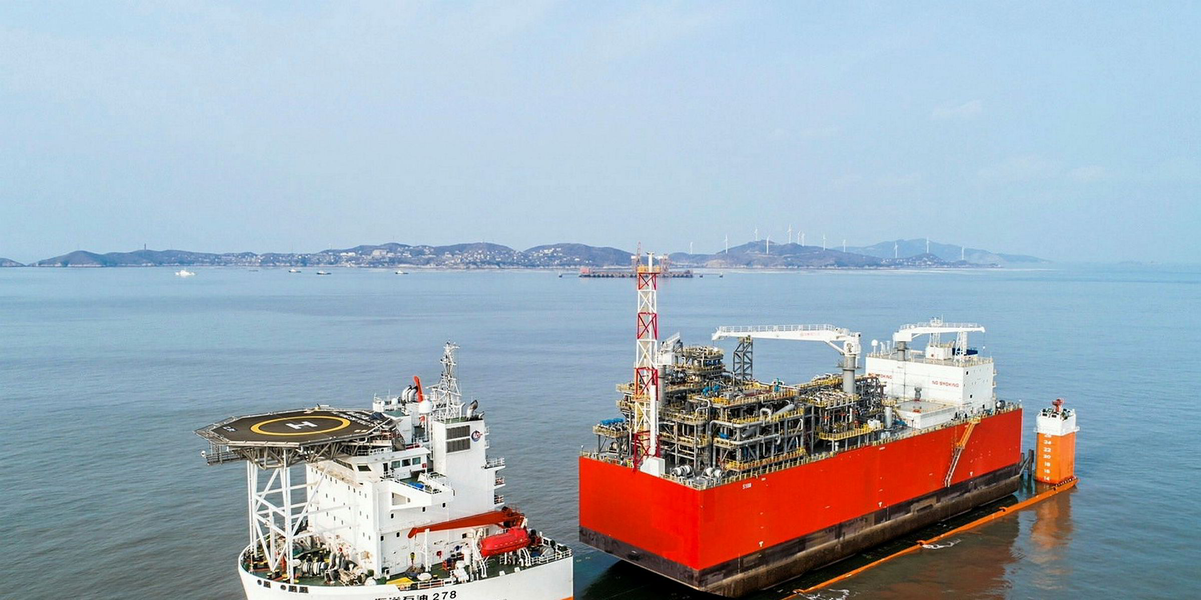 Exmar's barge-based FSRU begins its journey to Bangladesh