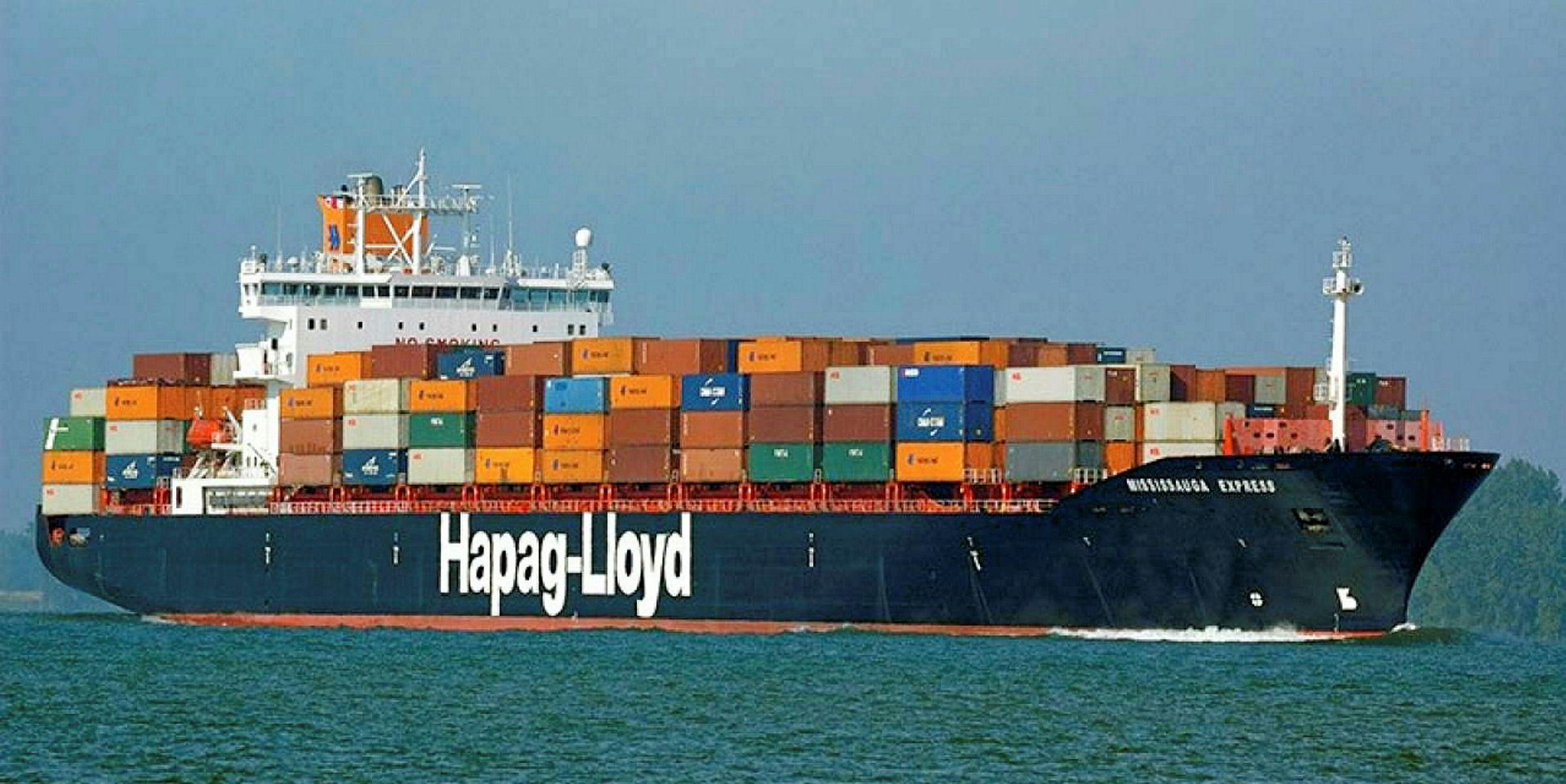 guter Verkauf Gutscheincode Shop für authentische Moody's upgrades container line Hapag-Lloyd | TradeWinds