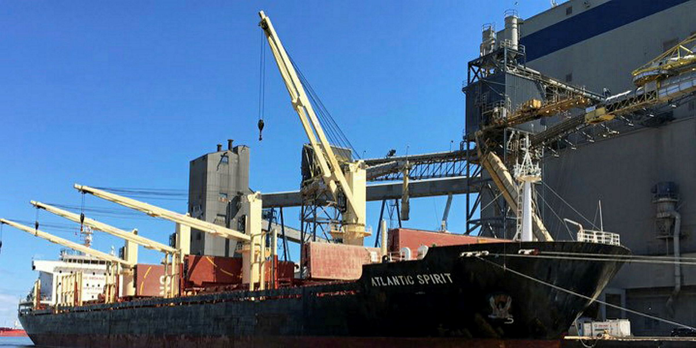 Asia Maritime Pacific and Fenwick Shipping tie the knot