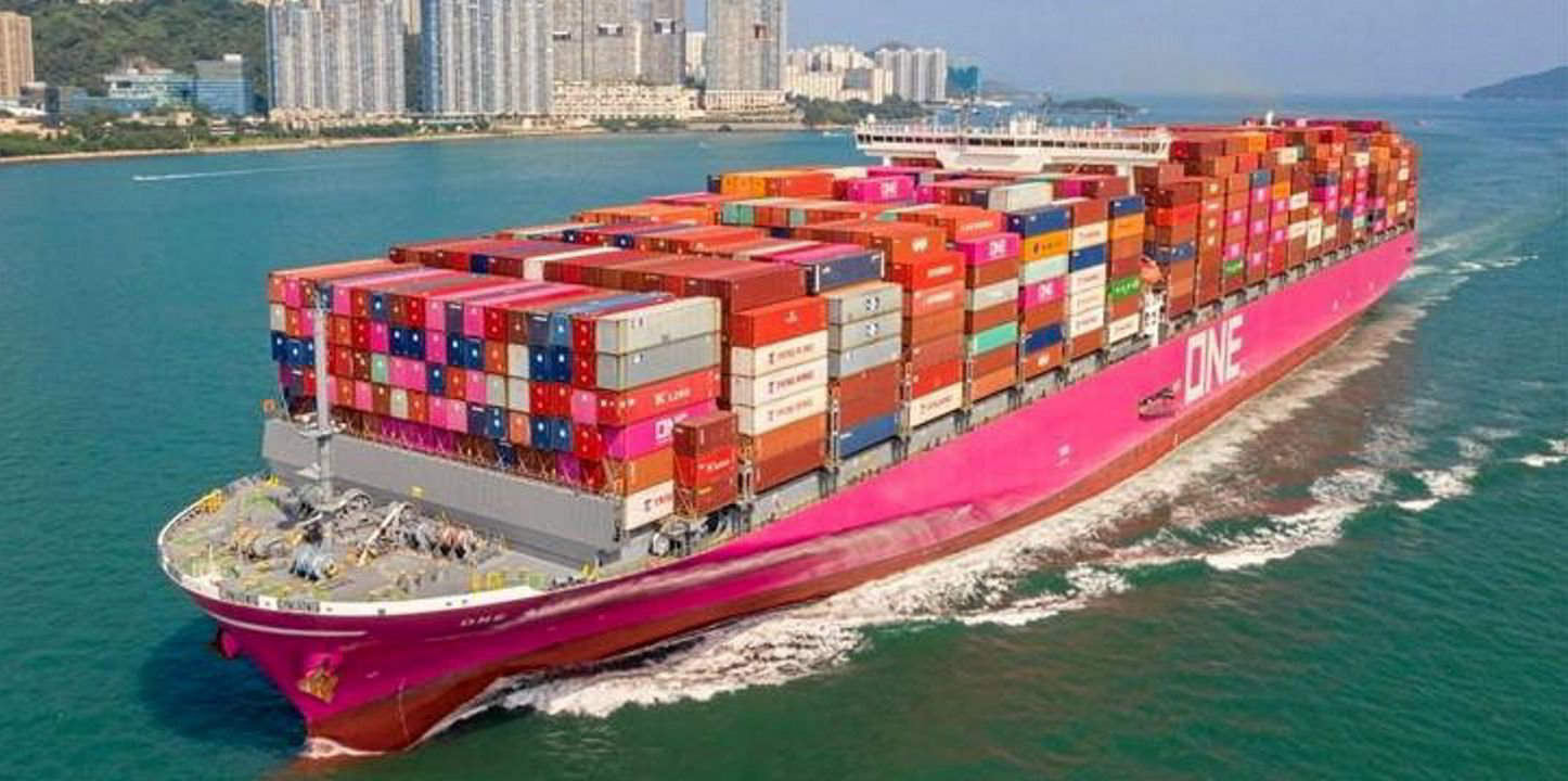 Social media pictures show container carnage on ONE Apus   TradeWinds
