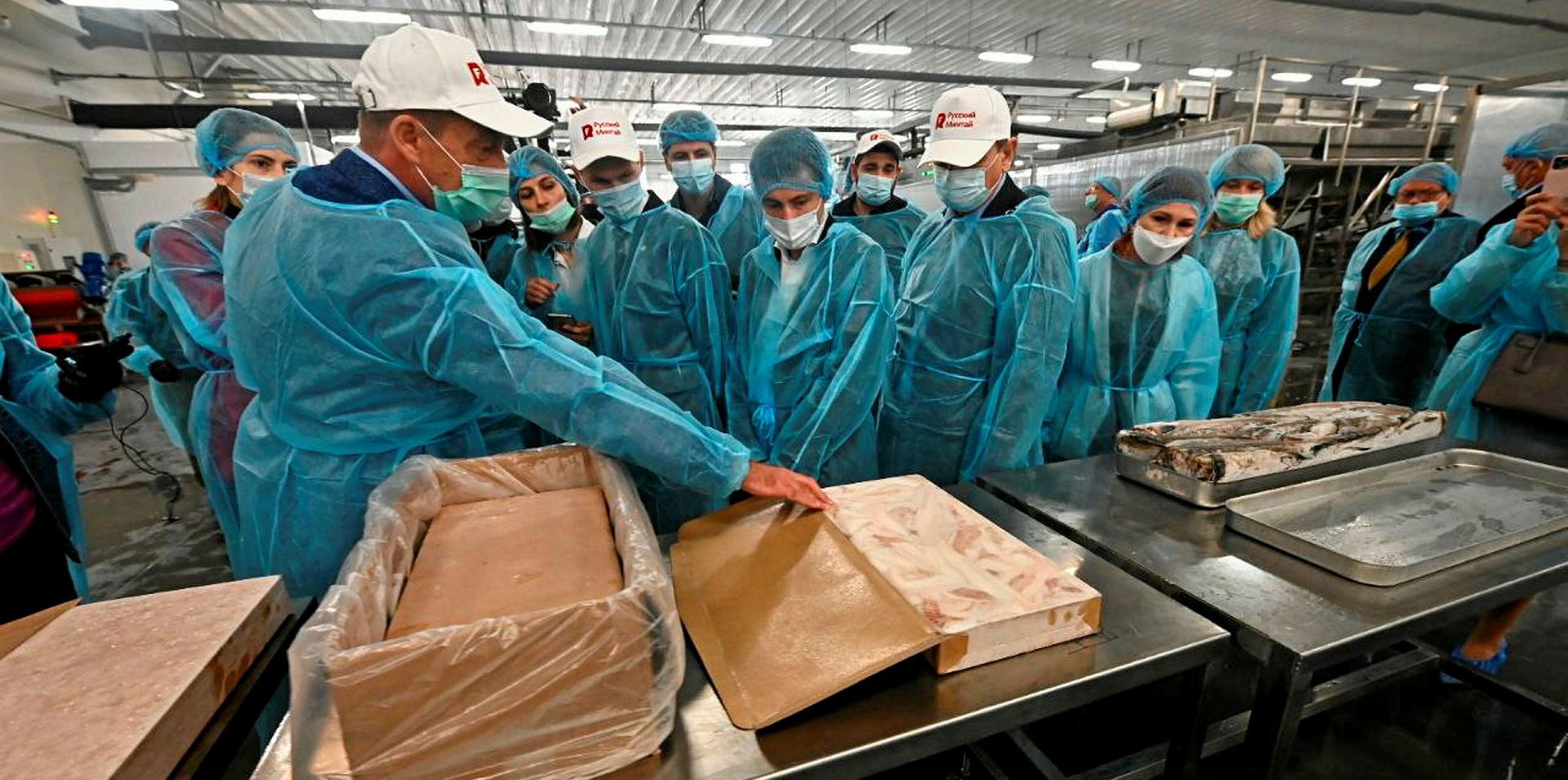 WATCH: Russian Fishery Company kicks off production at Far East pollock facility   Intrafish