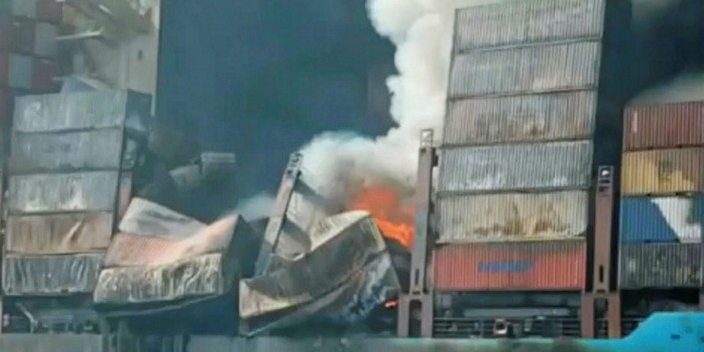 Salvors return damaged Maersk Honam to owner | TradeWinds