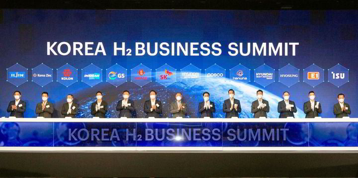 Samsung, Hyundai and other 'chaebols' join forces in $37bn Korean hydrogen pact