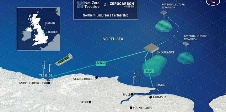 BP leads heavy-hitters in 'Endurance' CO2 storage funding bid in UK