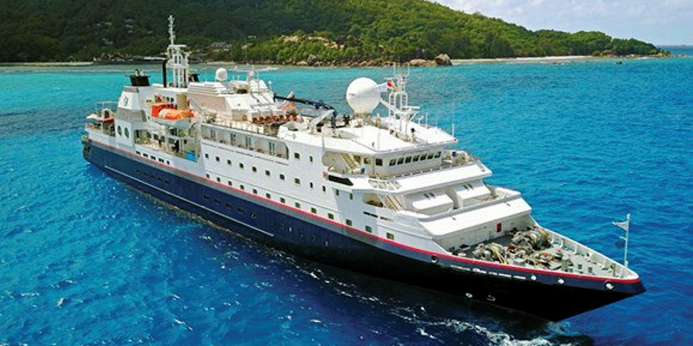 Cruise Ship Runs Aground Off Thailand S Phi Phi Island Tradewinds