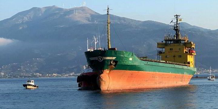 Rebel Libyan militia said to have seized another cargoship