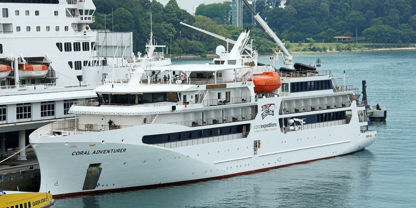 First Vietnamese Built Cruiseship Sets Sail Tradewinds