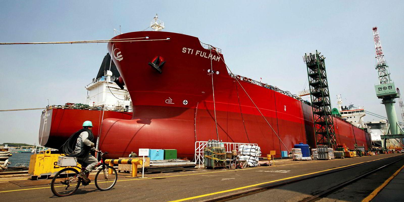 Meiji Shipping back at Hyundai Mipo for Shell product