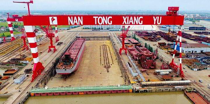 Nantong Xiangyu scores orders for up to six...